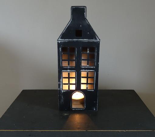 theelicht-huisje-metaal-zwart