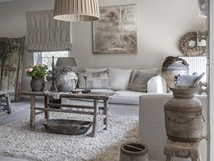 Tips landelijk interieur stijlvolle brocante for Accessoires woonkamer landelijk