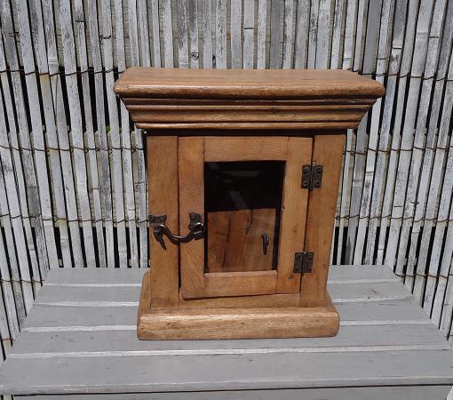 sleutel-kastje-oud-hout