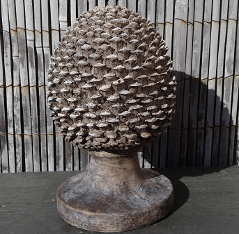 dennenappel-ornament-bruin-hout